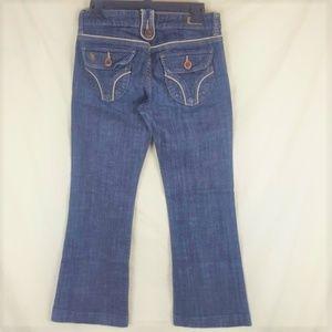 Nordstroms SEE THRU SOUL sz 28 Denim Bootcut Jeans